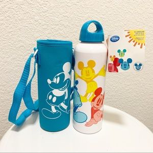 Disney Mickey Mouse Aluminum Water Bottle Limited Edition NWT